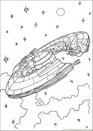 Star Wars Ships Coloring Pages Nicks 9th Clone Wars Birthday