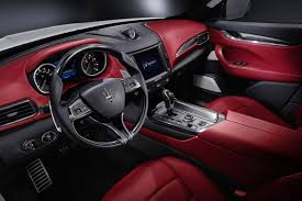 2018 maserati interior.  maserati 2018 maserati levante dashboard interior  side view and maserati interior n