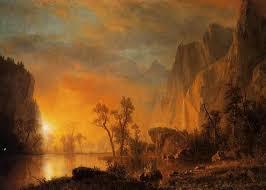 famous landscape oil paintings by albert bierstadt fine art blogger