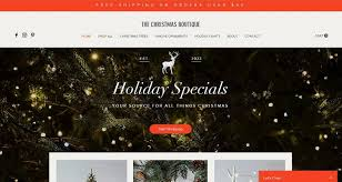 Free Christmas Website Templates Best Free Ecommerce Website Templates Buildthis