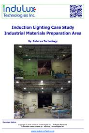 induction lighting pros and cons. Induction Lighting Case Study: Industrial Materials Preparation Area Pros And Cons