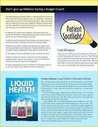Wellness Newsletter Templates Internal Newsletter Template Health And Wellness