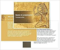 Egyptian Powerpoint Template Ancient Entertainment Gods