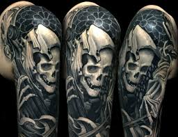 Symbology Death Tattoos The Greatest Mystery Of All Tattoo Life