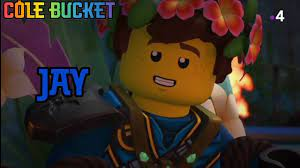 Lego Ninjago - Jay - Character Spot - Season 14 - Cole Bucket - YouTube