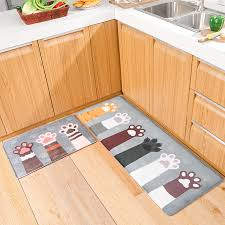 kitchen mat for floor soft carpet rug 4 sizes cooking mats children kitchen mats h19 kitchen