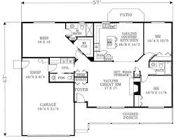 design inspirations of 2 bedroom ranch house plans with country style house plan 3 beds 2