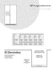 frs6lr5es3 frigidaire company appliance parts