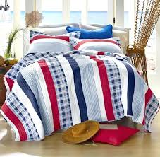 red white and blue bedding red bungalow white cottage seaside blue bedding king quilt set view red white and blue bedding