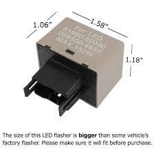 toyota lexus 8 pin 12v electronic led flasher blinker bulbs relay fix Led Turn Signal Flasher Relay Wiring led flasher relay fix toyota lexus Electronic Flasher for LED Turn Signals