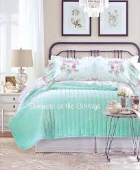 pink and aqua bedding aqua sea glass pink roses bedding pink and aqua baby girl bedding