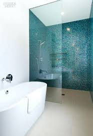 glass tile shower walls mosaic for