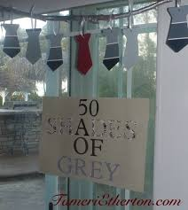 best fifty shades of grey book club passion party images on  the ties were made from paint samples such a creative and cute idea paint samplesfifty shadesbook
