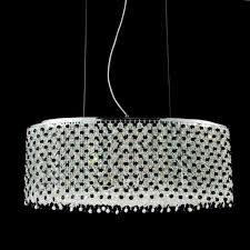 creative home design awesome brizzo lighting s 26 rainbow modern oval crystal chandelier intended for