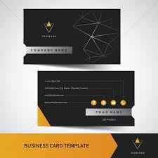 Namecard Format Business Card Template Vector Image 1822199 Stockunlimited