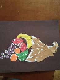 thanksgiving art project for kindergarten. thanksgiving cornucopia preschool art project. | teache . project for kindergarten