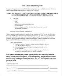 Sample Employee Report Forms 10 Free Documents In Word Pdf