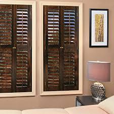 old wooden window shutters interior