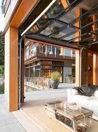 glass garage door patio r20 in stunning home decoration ideas with glass garage door patio
