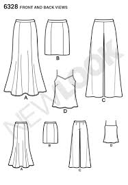 Camisole Pattern Simple Decorating Design