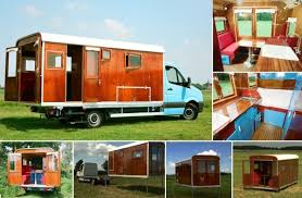 Small Picture Camping House on Wheels With Innovative Unloading System Home