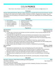 Unforgettable Merchandiser Retail Representative Part Time Resume