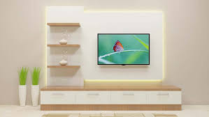 Small Picture Fashionably elegant and sophisticated TV Unit consisting wall