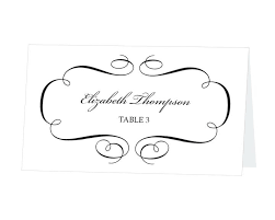 Table Card Template Lace Wedding Place Name Free Rsvp Luggage Tag