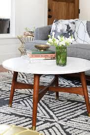 west elm reeve mid century coffee table