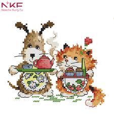 Nkf Little Chef Cartoon Style Needlepoint Canvas Free Cross Stitch Charts To Print For House Decoration Buy Free Cross Stitch Charts To