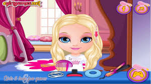 barbie games for s elegant disney frozen game baby barbie and elsa hairstyle make up game