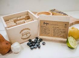 wooden recipe box 4x6 zoom wooden recipe box