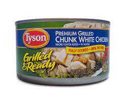 white meat en salad meal kit
