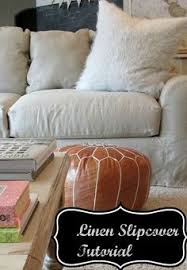 tutorial for a linen slipcovered couch couch redodiy couchrecover couchlinen sofafurniture redofurniture slipcoverspainted