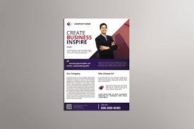 Create Business Flyer Business Flyer Template Corporate Flyer Template Photoshop And Element Template Instant Download V13