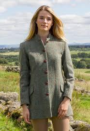 harris tweed scotland winter coat at glenalmond