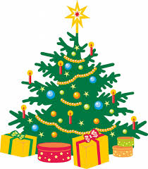 Images For Cartoon Christmas Tree Background
