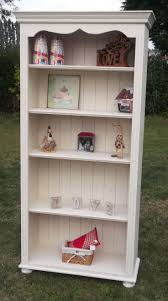 Take a solid pine bookcase then paint it with Websters Chalk Paint Powder  mixed into any
