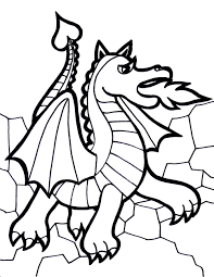 Ingenious Design Ideas Coloring Pages Of Dragons October Colouring ...
