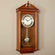 seiko oak pendulum wall clock