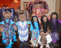 Dream Catcher Dolls OOAK Native American Dream Catcher Doll 86