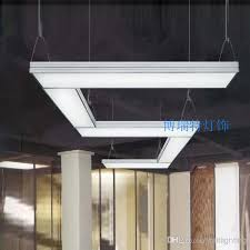 suspended office lighting. Higher (Cord Length Is Adjustable Or Can Request For A Longer Length) Bulbs: T5 2*28W (pls Buy From You City) Also We Have LED Bulb Lighting(include),if Suspended Office Lighting