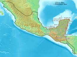 maya city wikipedia Mayan Cities Map map of the maya region showing locations of some of the principal cities click to enlarge mayan city map