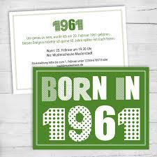 Dies ist der moment, wenn die partei, die heraussticht. Einladung Zum 60 Geburtstag Born In 1961 Individuelle Einladung