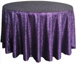 sequin purple 120 round