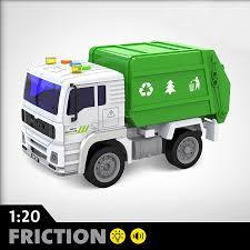 машина мусоровоз инерционный со светом и звуками
