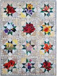 Floral Applique Quilt Pattern Series by Jane L Kakaley   Flower ... & Floral Applique Quilt Pattern Series by Jane L Kakaley Adamdwight.com