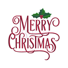 Pictures Of Merry Christmas Design Merry Christmas Machine Embroidery Design Stitchtopia