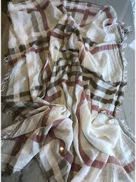 <b>Summer Cotton</b> & <b>Linen</b> plaid scarf - Boutique Made In italy