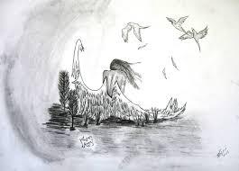 Angel Sketch Fallen Angel